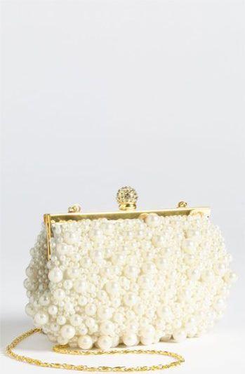 pearl clutch