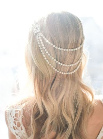 hair pearl accessories