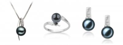 akoya black pearls
