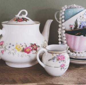 tea party porcelain