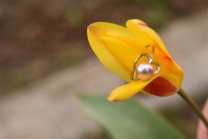 pearl rings for women