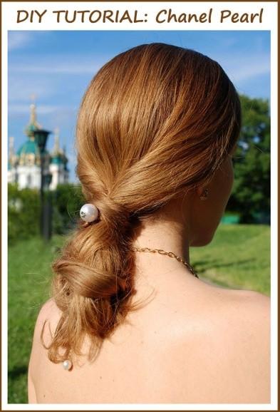 pearl headband diy