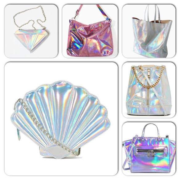 holographic bags