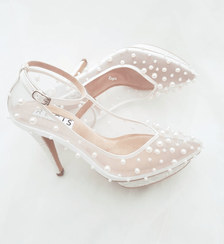 51fd1a57f44 Beautiful Pearl Wedding Shoes & 7 Tips On How To Pick The Perfect ...