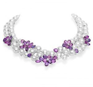 mikimoto pearls necklace