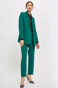 green emerald suit