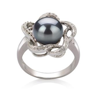black pearl rings