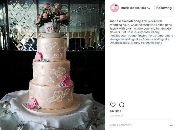 pearl wedding cakes