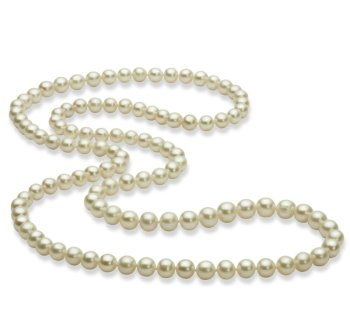 30 inches pearl necklace