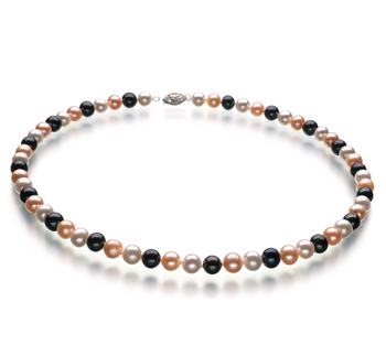 pearl necklace for young lady