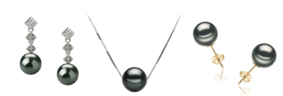 tahitian black pearls