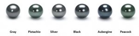 tahitian black pearl colors