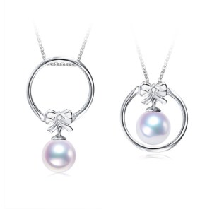 how to incorporate pearl accessories - pearl pendant