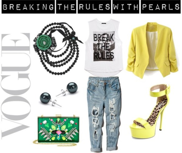 Breaking the Rules with Pearls