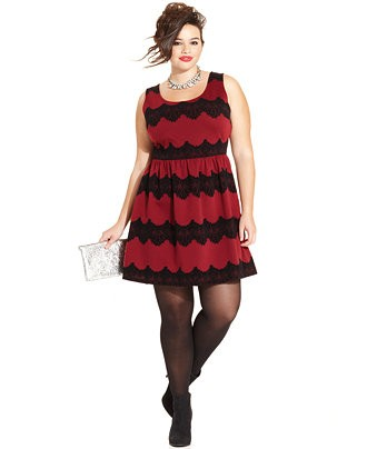 PEARL FASHION: Holiday Dresses for Curvy and Plus Size Women ...