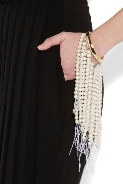 cascade pearl bracelet