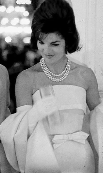 Image result for jacqueline kennedy pearls