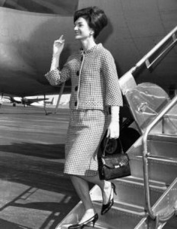 jackie kennedy style two piece