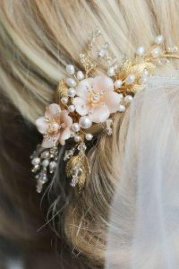 Hochzeit Haar Perlenzubehör