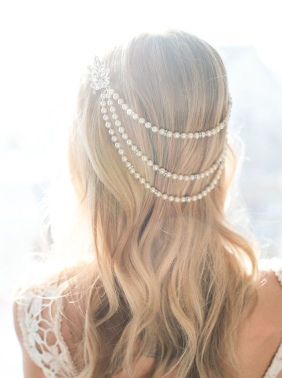 Gorgeous Pearl Accessories For Brides Pearlsonly