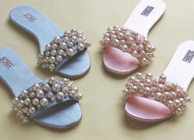 pearl shoes
