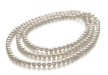 Dreifach-Strang Perlenkette