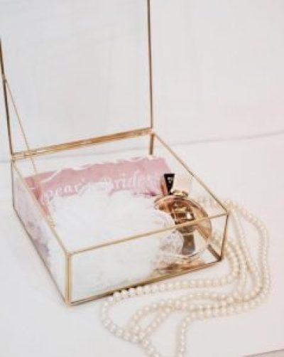 Brautjungfer Geschenkkarton Ideen