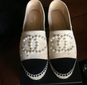 chanel pearl shoes