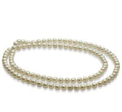 Seil aus weißen Perlen