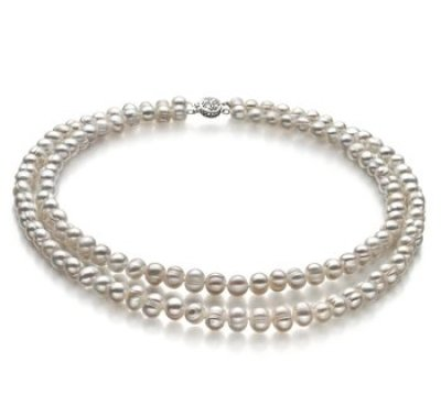 2bb17f6a9cb65 5 Double Strand Pearl Necklaces Perfect For Any Occasion - PearlsOnly