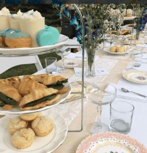 tea part table setting
