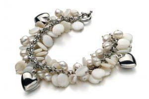 Liebe Perlenarmbaket Geschenk