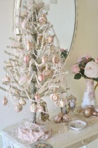 pearl christmas ornaments
