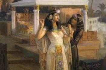 Cleopatra und die teure Mahlzeit