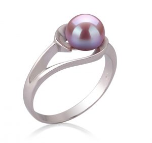 lavender pearl rings for women