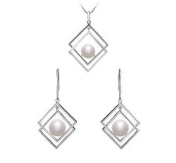 Perlenschmuck-Set für Brautjungfer