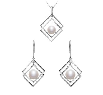 pearl jewelry set for bridesmaids
