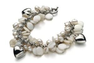 flat pearls bracelet