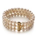 triple pearl bracelet