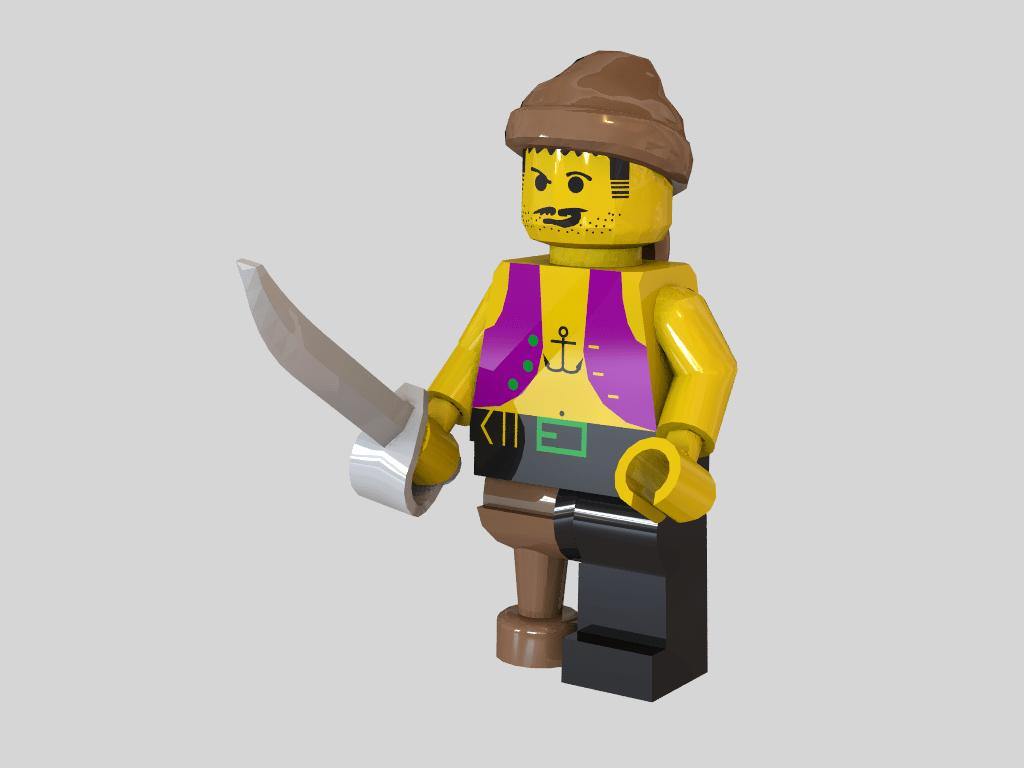 3d Lego Models