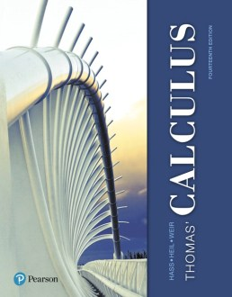 Calculus Thomas  Calculus  14th Edition