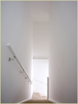 Install Wall Handrails | Wall Handrails For Stairs | Timber | Recessed | White | Contemporary | Antique