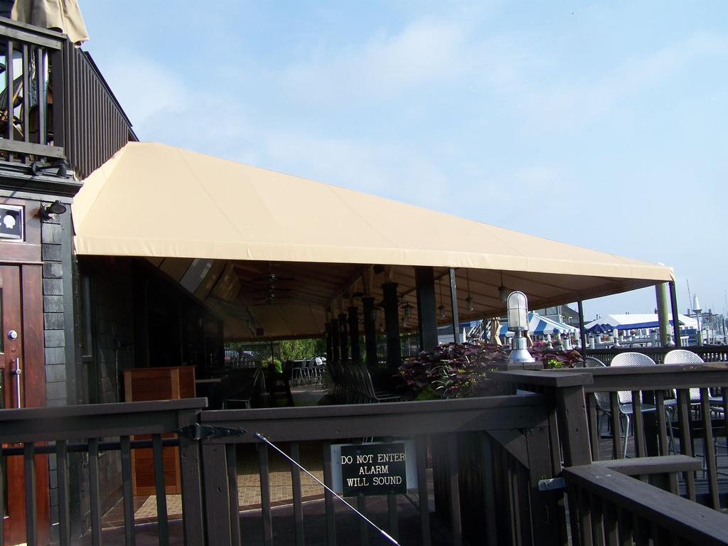 Restaurant Canopies Amp Curtains Gallery LFPease Company
