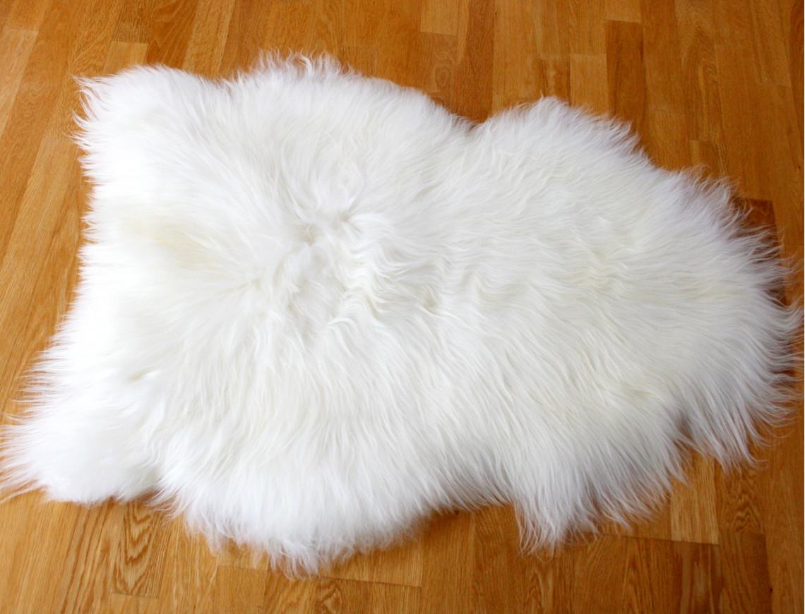 peau de mouton islandais blanc tannage ecologique