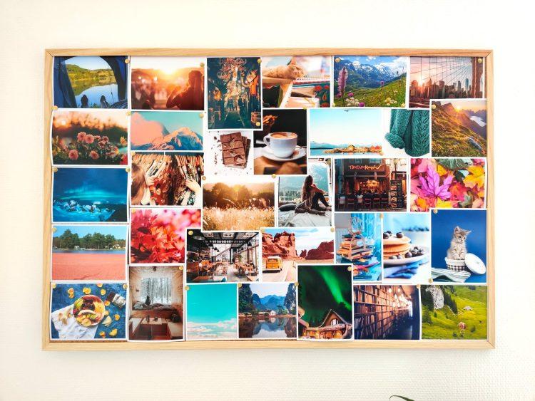 Mon vision board : un petit outil bien-être