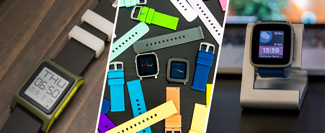 Pebble Accessories - Straps, Skins, Docking Station