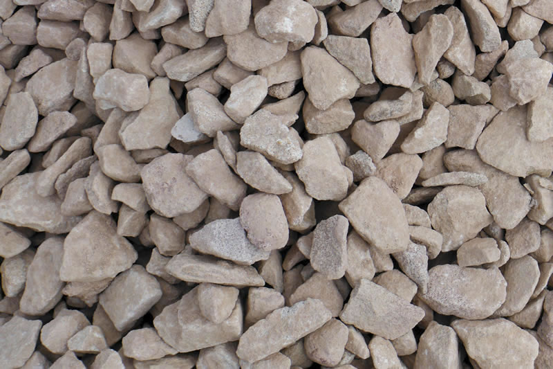 Pink And White Gravel