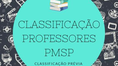Photo of Classificação dos Professores Candidatos a Contratação – PMSP – 2018