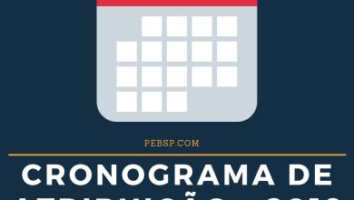 Photo of Cronograma de Atribuição de Classes e Aulas 2019