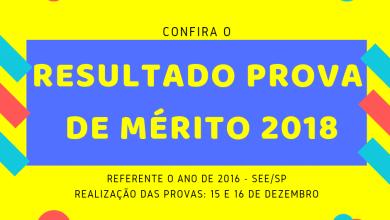 Photo of Resultado Final da Prova de Promoção por Mérito – 2018